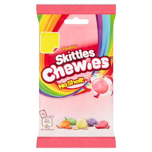 Skittles Fruit Chewies Treat Bag 125g (UK)